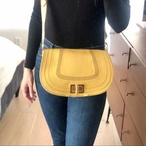Chloé Marcie Turn-Lock Messenger Bag